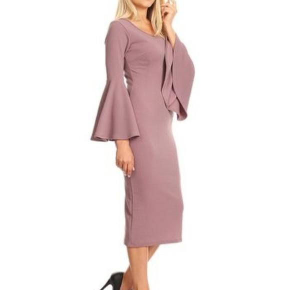 Nema Avenue Dresses | Plus Size Light Plum Dress | Poshmark